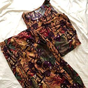 Women's 2 piece maxi dress Size L